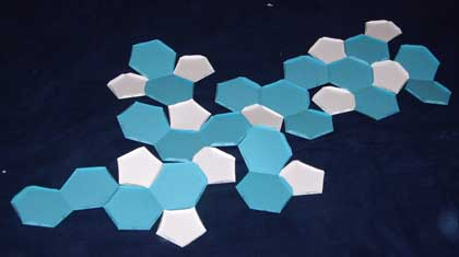 how to make a buckyball sphere out of paper